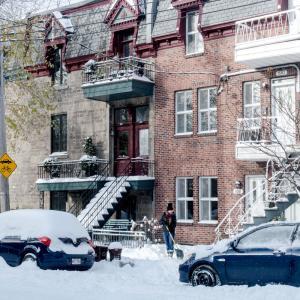 11月なのに真冬!?初大雪の後のモントリオール