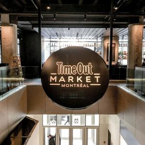 モントリオールのお洒落な、新しいフードホールTime Out Market!