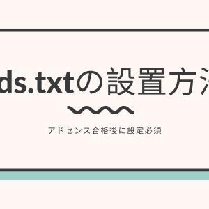 アドセンス合格後に設定必須!ads.txtの設置方法【エックスサーバー×WordPress×cocoon】