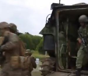 水陸機動団 共同訓練 カマンダグ