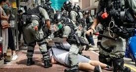 *自民党が中国非難決議を了承へ【香港民主派支援