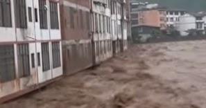 *水害の続く中国で起きた怪異現象 天が割れ 魚が飛び 地震が群発する