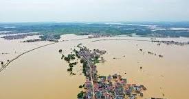 * 三峡ダム警戒水位3.5m超え 更に大陸最大の淡水湖鄱陽でも洪水発生