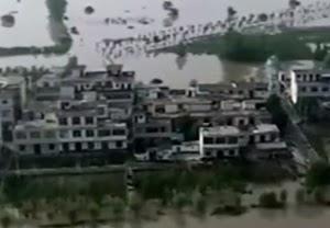〇中国水害地域が北上か 北京なども浸水へ