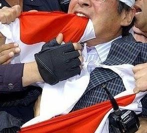 〇尖閣グレーゾーン事態対処法や国旗を損壊から守る法案など献策される
