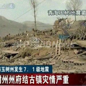 始まったか? 】 M7.4地震に武漢竜巻 中国で天災が相次いで発生 画像多め