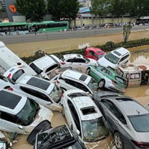 〇中国大水害 首都北京まで水没状態 まさに水責めの拷問