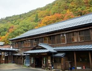 花巻「大沢温泉」で紅葉