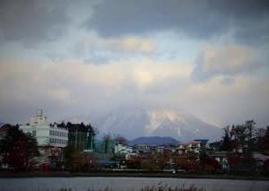 2019晩秋の岩手山