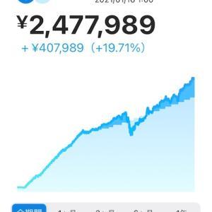 WealthNavi 855日目