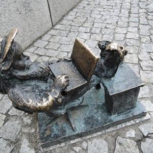 ポーランド旅行 8日目ヴロツワフの旧市街その1
