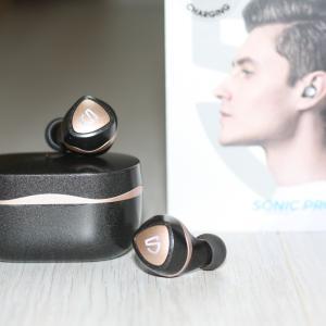 【SoundPeats製Sonic Proレビュー】補聴器用でも使用されているデュアルBAドライバー搭載のコスパ最強おすすめワイヤレスイヤホン