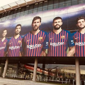 ファン歴30年の男の涙...(笑)〜FCバルセロナの本拠地「カンプ・ノウ」〜