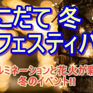【はこだて冬フェスティバル】イルミネーションと花火が大人気!