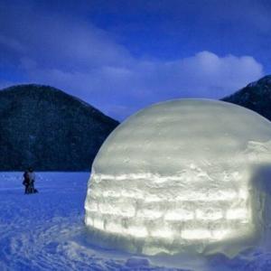 【しかりべつ湖コタン】冬限定の湖上の村!開催期間やアクセス方法紹介