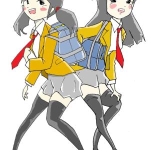 アキとレイコ