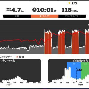 Zwift DE 2 Race 39m10s, 268.2W(NP 321.1W)& 41m38