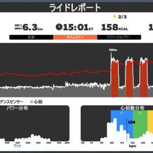 Zwift DE Race 41m12s, 299.8W(NP 322.0W)