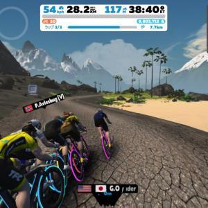 Zwift DE RACE 51m59s, 263.9W(NP 280.8W)
