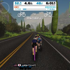 Zwift DE RACE 48m09s, 279.1W(NP 329.4W)