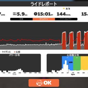 Zwift DE RACE 51m17s, 282W(NP 292W)