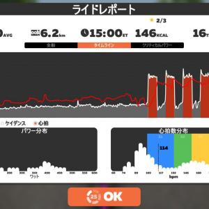 Zwift DE RACE 48m57s, 281W(NP 286W)