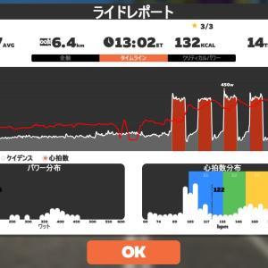 Zwift DE RACE 49m12s, 267W(NP 272W)