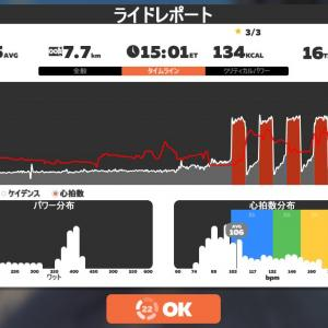 Zwift DE RACE 1h19m55s, 248W(NP 264W)