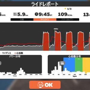 Zwift DE RACE 39m01s, 260W(NP 263W)