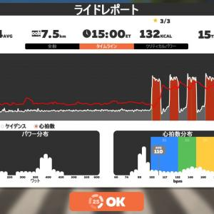 Zwift DE 2 RACE 39m15s, 268W & 45m43s, 264W