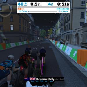Zwift DE RACE 31m57s, 272W