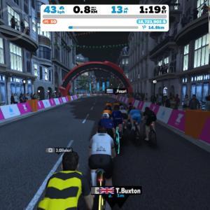 Zwift DE 2 RACE 20m55s, 282W & 43m37s, 265W