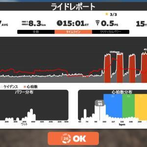 Zwift DE RACE 49m06s, 261W(NP 266W)