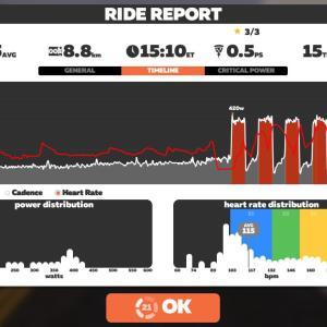 鈴鹿スポーツガーデン周回 DE 距離:95.9km, Ave:35.5km/h, 223.3W