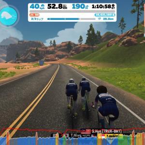 Zwift DE RACE 1h48m48s, 224W(NP 231W)