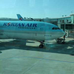 大韓航空でソウル旅行①