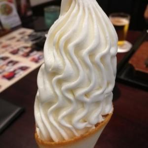車椅子でお出掛け ソフトクリームを食べる