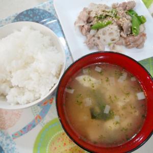 再お米ダイエット7日目