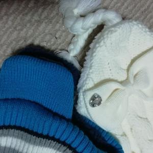 ❆冬支度❆雪国の子供たちの防寒、帽子はこんなのがいい!