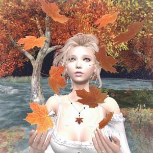秋の景色でSS