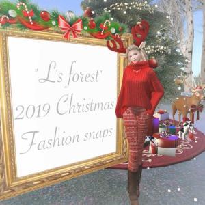 エキシビション会場をご紹介/2019 Christmas Fashion snaps