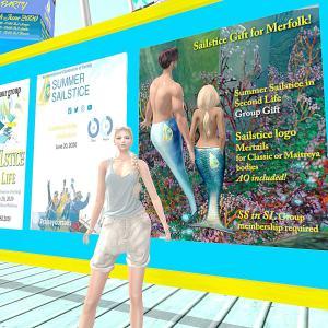 SLの海のイベントに行ってきました〜(^ー^)ノ