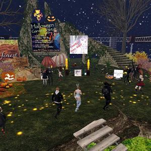 Halloween Garden Partyにご来場いただき、ありがとうございました〜!