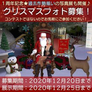 クリスマスフォト募集&展示します!/過去作品も全部展示中!