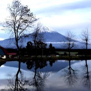 富士山をバックに!ふもとっぱらキャンプ場