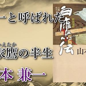 白鷹と共に戦国を飛翔した男 『戦国秘録 白鷹(はくよう)伝』 著者:山本兼一 〈書評・レビュー・感想〉