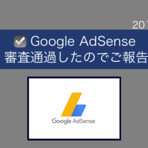 《GoogleAdSense》審査通過したのでご報告