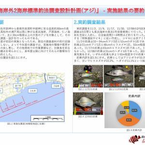 【成果品】長浜海岸外2海岸標準釣法調査設計計画(アジ) - 実施結果報告書【#土佐湾大アジ計画】