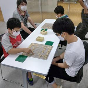 福井こども将棋教室の方に遊びに来て頂きました