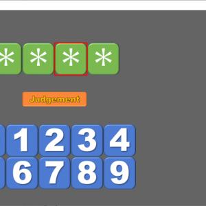 【pygame】pythonでヒット&ブローゲーム作る #04 数字の入力【簡単】